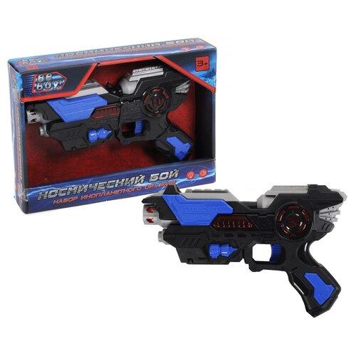 игрушечное оружие beboy игрушечный меч it100520 свет звук Бластер BeBoy Космический бой, свет и звук, в коробке (IT104229)