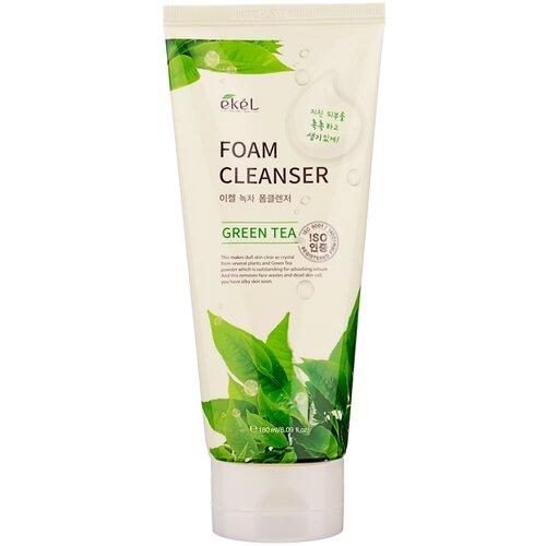 Купить Ekel пенка для умывания с экстрактом зеленого чая Green Tea Foam Cleanser, 180 мл