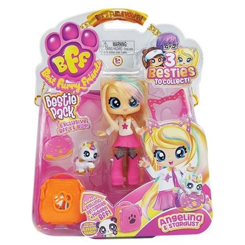 Кукла Headstart Best Furry Friends Angelina & Stardustс питомцем, 12 см, 77721