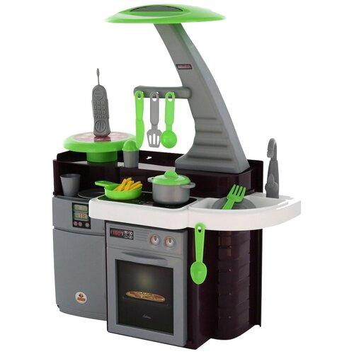 Купить Кухня Coloma Y Pastor Laura 56320/49896 черный/белый/зеленый, Детские кухни и бытовая техника