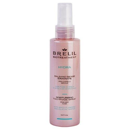 Купить Brelil Professional несмываемый кондиционер-спрей BioTreatment Hydra Two-Phase Moisturising увлажняющий для сухих волос, 150 мл