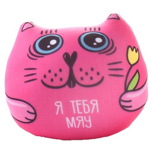 Игрушка-антистресс Мнушки Кот с фразой: Я тебя мяу 13 см