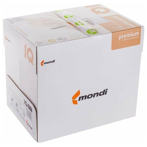 Фото - Бумага IQ Premium A4 80 г/м² 500 лист., 5 пачк., белый бумага creative a4 студенческая 80 г м² 100 лист белый