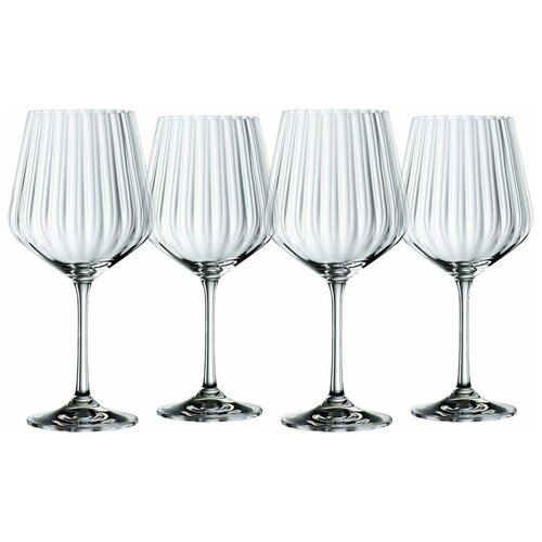 Фото - Набор из 4-х хрустальных бокалов для коктейлей Gin & Tonic, 640 мл, прозрачный, Nachtmann 102892 набор бокалов для коктейлей sea life
