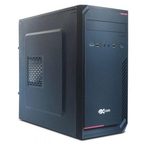 Настольный компьютер X-Com Business (N0027193) Mini-Tower/Intel Pentium Gold G5400/4 ГБ/120 ГБ SSD/Intel UHD Graphics 610/Windows 10 Pro черный