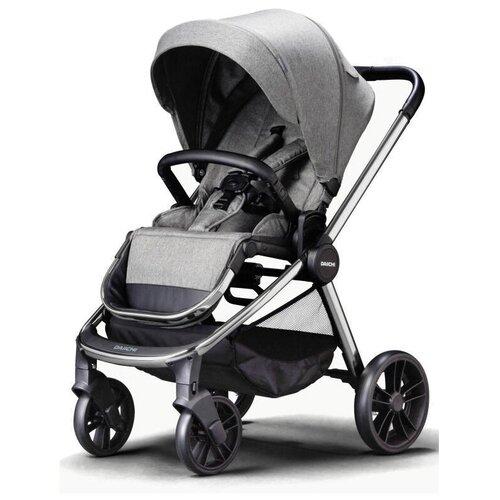 Прогулочная коляска Daiichi Allee, misty grey/chrome, цвет шасси: серебристый