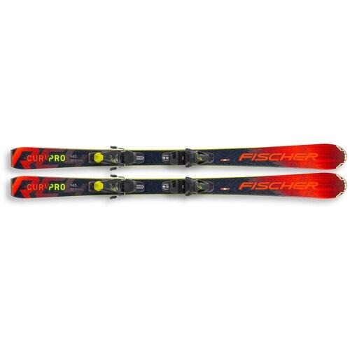 Горные лыжи с креплениями Fischer RC4 The Curv Pro Slr (20/21), 140 см