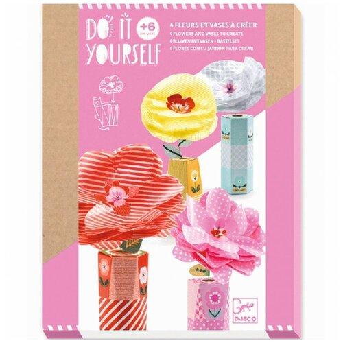 Фото - DJECO Набор для творчества Романтичные цветы (07951) набор для творчества djeco романтичные цветы 07951