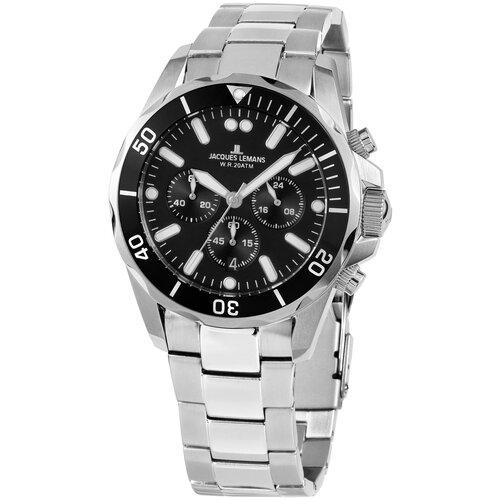 Фото - Наручные часы JACQUES LEMANS 1-2091F наручные часы jacques lemans 1 2068b