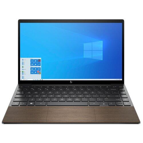 "Ноутбук HP Envy 13-ba (/13.3""/1920x1080/Windows 10 Home)0021ur (Intel Core i5-1035G1 1000MHz/13.3""/1920x1080/8GB/512GB SSD/Intel UHD Graphics/Windows 10 Home) 246U0EA темно-серый/ореховый"