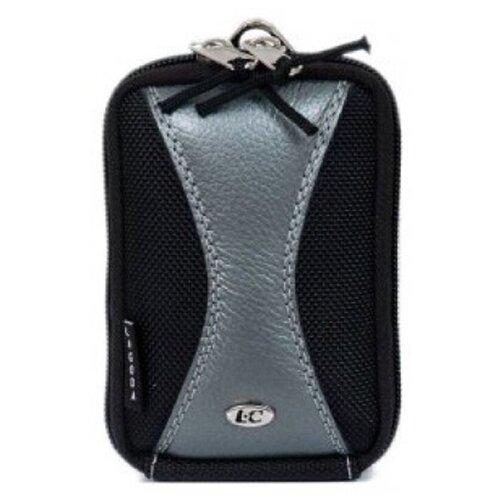 Фото - Сумка для компактного фотоаппарата Lagoda SPORT-129 Черно-серая сумка для компактного фотоаппарата lagoda alfa 019 черно серая с полосой