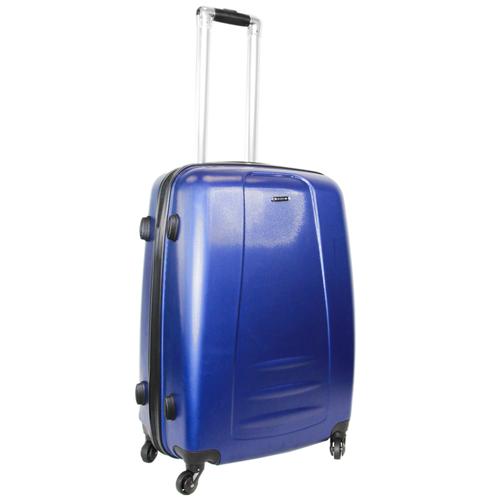Чемодан Rion+ 418/3 62 л, синий чемодан rion 418 3 62 л голубой