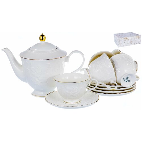 Набор чайный 220мл Грация 13 предметов 6 персон, 101-04011, Balsford набор чайный 220мл грация 13 предметов 101 30007 balsford