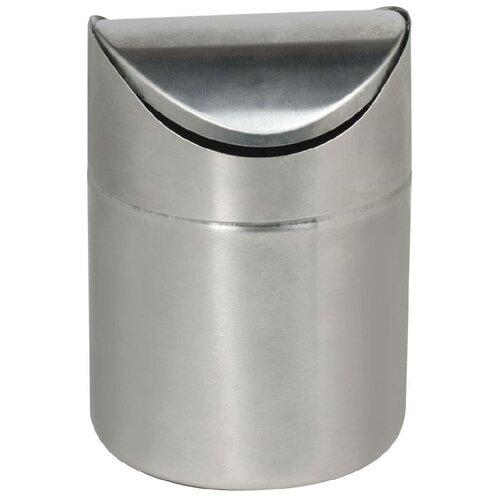 Фото - Контейнер Лайма 601618, 1.2 л нержавеющая сталь урна для мусора лайма настольная с качающейся крышкой нержавеющая сталь матовая 601618