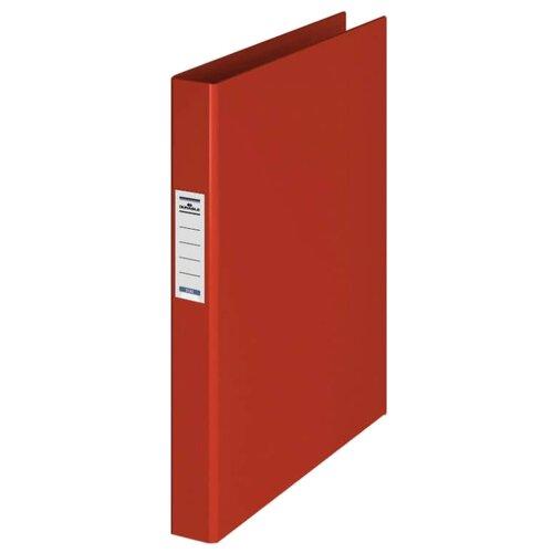 Фото - DURABLE Папка на 2-х кольцах с торцевым карманом A4, ПВХ, 35 мм красный brauberg папка на 2 х кольцах a4 картон пвх 35 мм синий