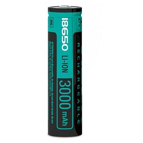 Фото - Аккумулятор Videx 18650 3000 mAh Li-ion VID-18650-3.0-WP аккумулятор незащищенный sanyo ncr18650bf 18650 3400мач 3 7в