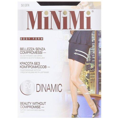 Фото - Колготки MiNiMi Dinamic, 50 den, размер 4-L, fumo (серый) колготки minimi vittoria 20 den размер 4 l fumo серый
