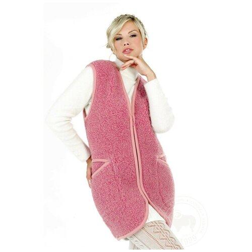 Жилет ALWERO, размер 4XL, розовый