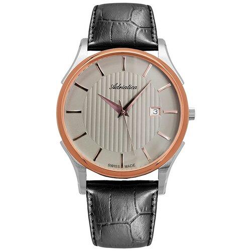 Фото - Часы наручные швейцарские мужские Adriatica A1246.R217Q мужские часы adriatica a1246 5217q