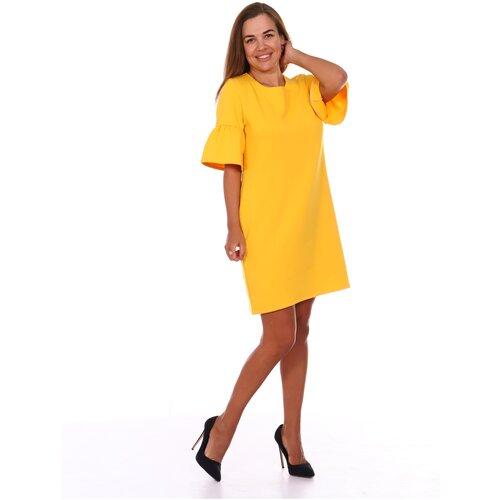 платье befree 1911097509 женское цвет зеленый 17 однотонный р р 48 l 170 Платье женское Stella Tex Валли, 48 р-р, желтый