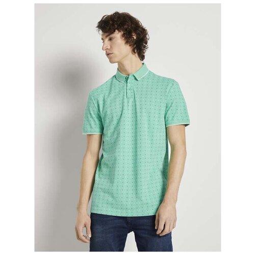 Поло Tom Tailor 1024053 размер XL, зелeный поло tom tailor tom tailor to172emdtmp2