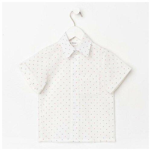 Купить Рубашка Minaku размер 116, белый, Рубашки