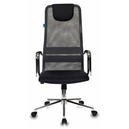 Компьютерное кресло Бюрократ KB-9 (обивка из сетки) для руководителя, обивка: текстиль, цвет: черный