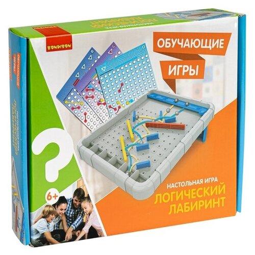 Обучающие игры Bondibon Настольная игра логический лабиринт, BOX bondibon настольная игра bondibon лабиринт с джойстиком прямоугольное поле