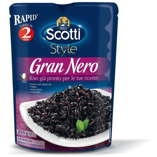 рис riso scotti жасмин шлифованный длиннозерный 500 г Рис Riso Scotti Gran Nero 255 г