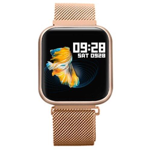 детские умные часы zdk q360 голубой Умные часы ZDK Style 80, розовое золото
