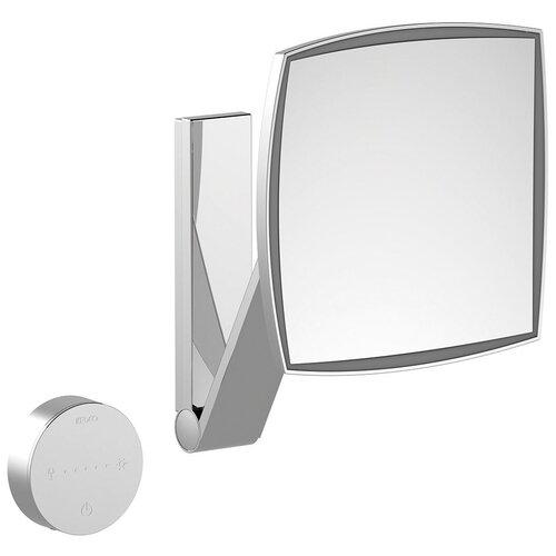зеркало косметическое настенное keuco bella vista 17605019000 с подсветкой Зеркало косметическое настенное KEUCO iLook_ move (17613019002) с подсветкой хром