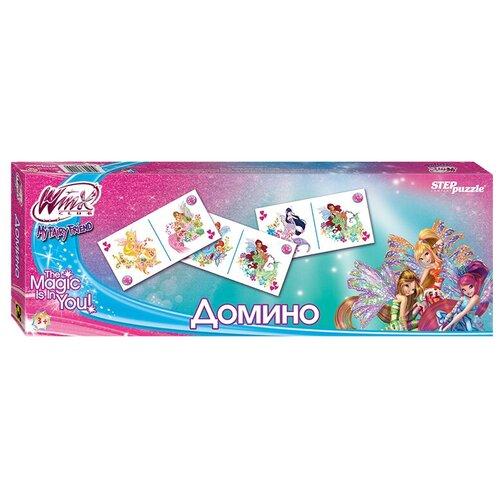 Настольная игра Step puzzle Домино Winx (Rainbow) недорого