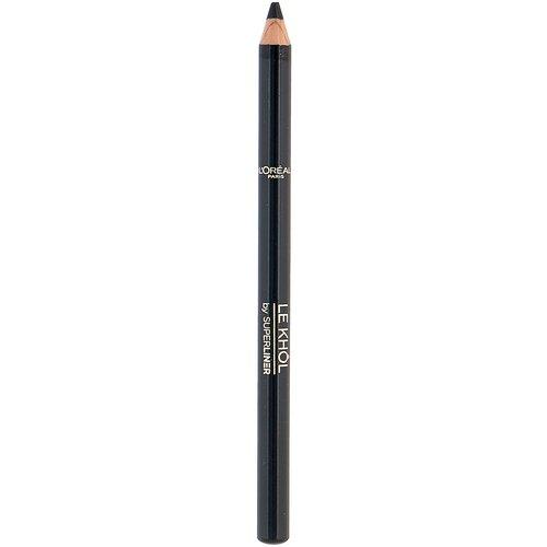 Купить L'Oreal Paris Карандаш для глаз Color Riche Le Khol by Superliner, оттенок 101 Черный
