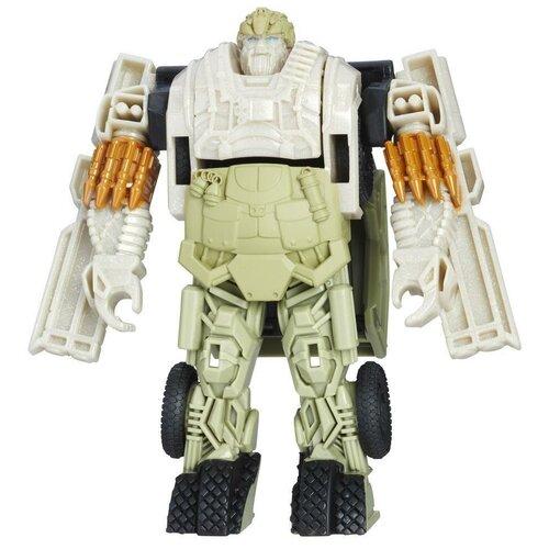 роботы transformers hasbro трансформеры 5 movie уан степ Трансформер Transformers Transformers Хаунд (Гончая). Уан-Степ (Трансформеры 5) C1314, белый/бежевый
