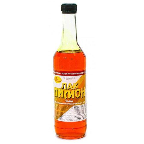 Лак Новбытхим ХВ-784 перхлорвиниловый лимон 0.5 л