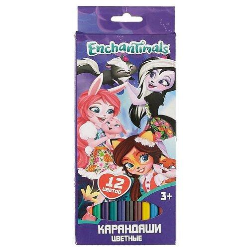 Купить CENTRUM Цветные карандаши Enchantimals 12 цветов (88769)
