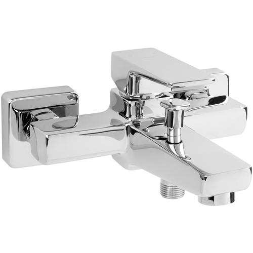 Фото - Смеситель для ванны с подключением душа Omnires Parma PM7430 CR однорычажный хром смеситель для душа omnires slide sl7740 cr