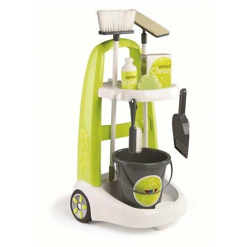 Игровой набор Smoby для уборки 330300 зеленый/белый