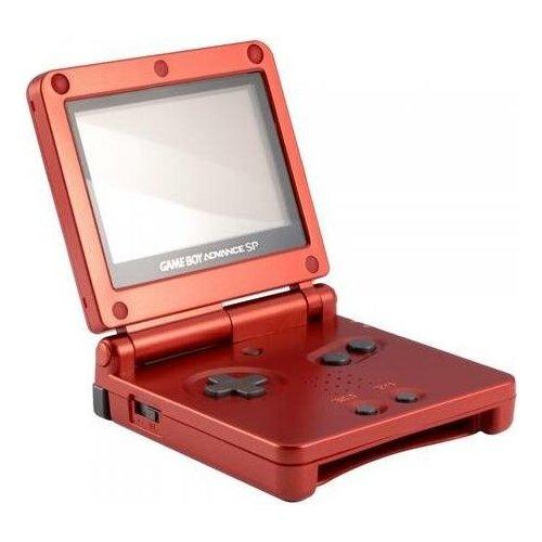 Портативная игровая приставка Nintendo Game Boy Advance SP (Красный)