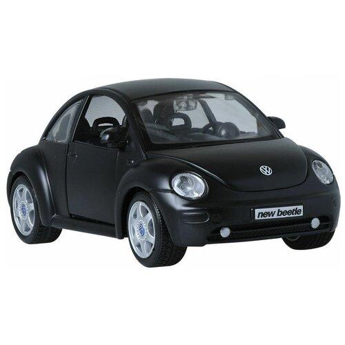 Купить Легковой автомобиль Maisto Volkswagen New Beetle (31975) 1:24, 16 см, черный, Машинки и техника