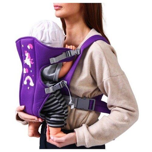 Купить Рюкзак-кенгуру для малыша Пони 4741949, Крошка Я, Рюкзаки и сумки-кенгуру