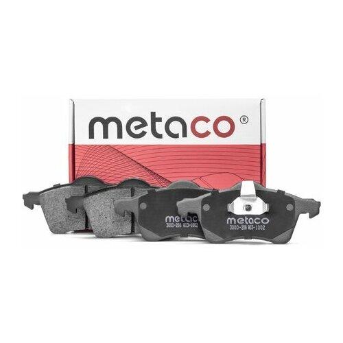 Колодки тормозные передние к-кт (Производитель: METACO 3000266)