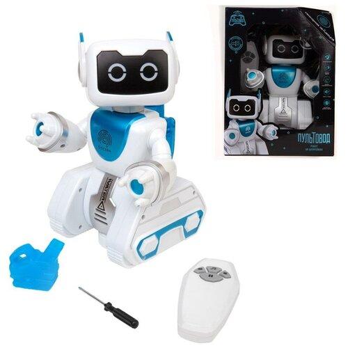 Робот на радиоуправлении Пультовод Вольт Junfa Toys роботы junfa робот на радиоуправлении пультовод