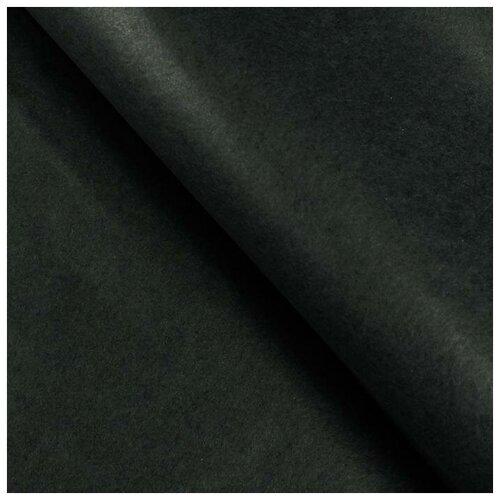 Бумага упаковочная тишью, черный, 50 см х 66 см, набор 10 шт. 7059638