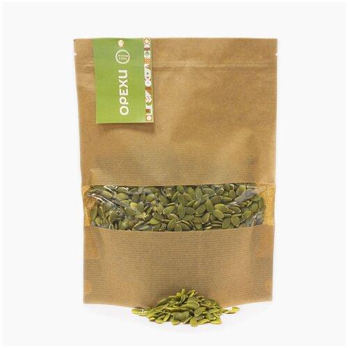 Орехи. Тыквенные семечки 475 гр, вкусные сухофрукты Зеленая Улица. Свежий урожай. Зеленая Улица!
