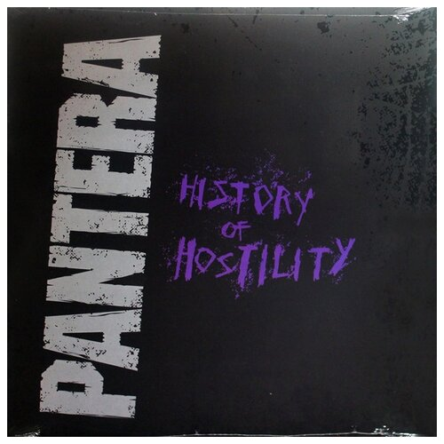 Rhino Records Pantera. History Of Hostility. Coloured Silver Vinyl (виниловая пластинка)