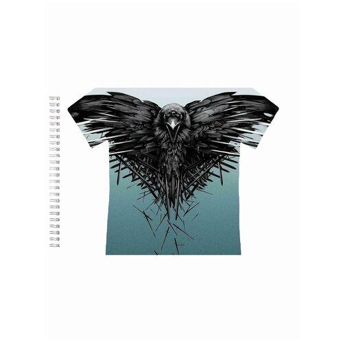 Альбом для рисования, скетчбук Ворон (игра престолов)