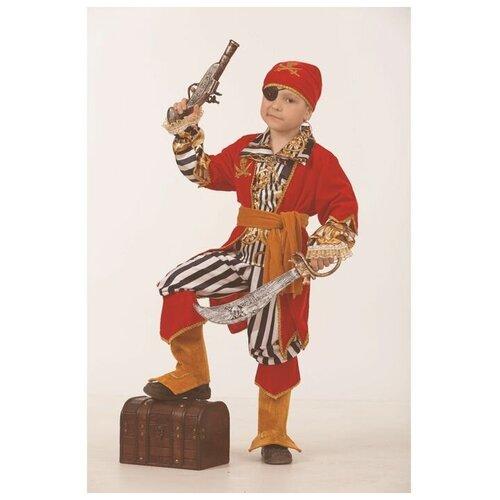 Фото - Батик Карнавальный костюм «Пират морской», размер 36, рост 146 см костюм батик леший 6074 коричневый размер 146
