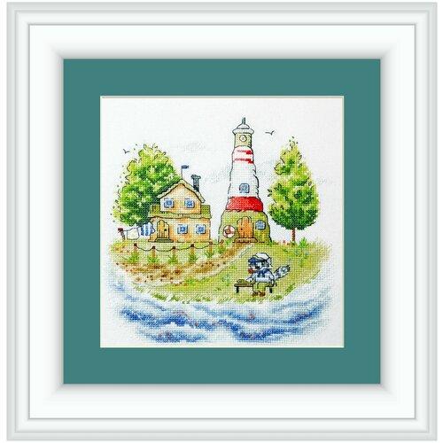 Купить Набор для вышивания Neocraft РЗ-34 Хранитель маяка 19 х 19 см 1 шт., Наборы для вышивания