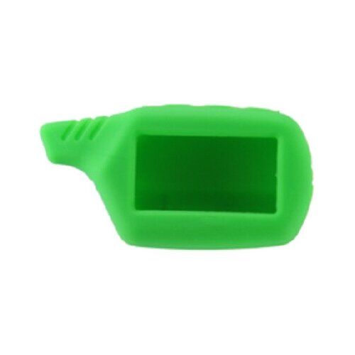 Чехол силиконовый Старлайн подходит для брелока ( пульта ) автосигнализации Starline B6 / B9 / A61 / A91 (Цвет зеленый)